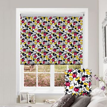 Mickey Mouse Roller Blind Patterned Disney Blackout Fabric